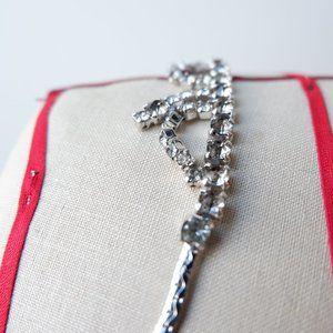 Mid Century Glamour Rhinestone Necklace